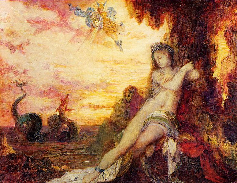 Gustave_Moreau_-_Perseus_and_Andromeda_1870