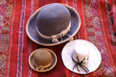 Hats_from_Bolivia